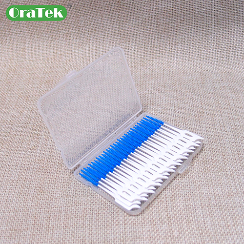 Tpe Rubber Soft Interdental Picks Food Grade Ps